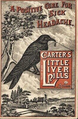 CARTER'S LITTLE LIVER PILLS *2X3 FRIDGE MAGNET* VINTAGE ADVERTISEMENT HEADACHE