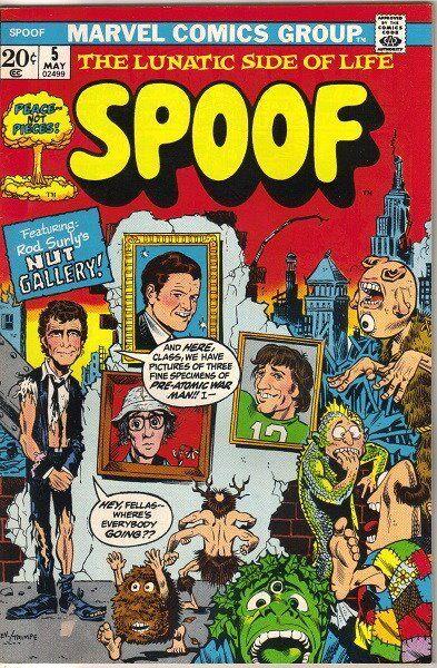 SPOOF Comic Book #5, Marvel 1973 FINE+