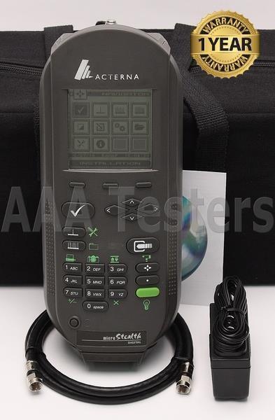 Wavetek Acterna JDSU MS1300 CATV Signal Meter MS-1300