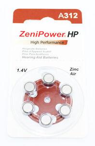 Zenipower hp hearing aid batteries