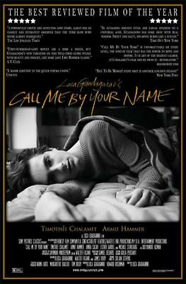 Call Me By Your Name Movie Male Actor Timoth E Chalamet Art Poster 18X12
