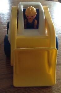 VINTAGE LITTLE TIKES LOADER TRUCK WITH DRIVER