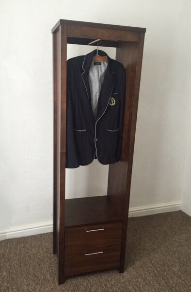 Single wardrobe, cupboard, cabinet, two drawers
