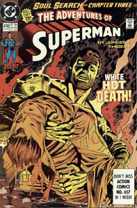 Soul Search-Chapter Three The Adventures Of Superman Comic
