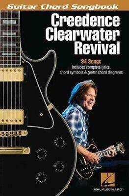 Creedence Clearwater Revival Guitar Chord Songbook, Paperback by Creedence Cl... Creedence Clearwater Revival Guitar