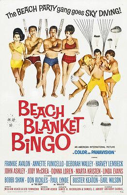 Beach Blanket Bingo - 1965 - Movie Poster