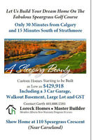 Let us Build your dream home on the     Speargrass Golf Course