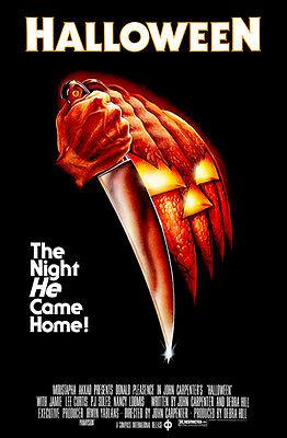 1978 Halloween Movie Poster (Halloween - 1978 - Movie)