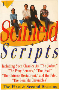 THE SEINFELD SCRIPTS: The First and Second Seasons + DVD's