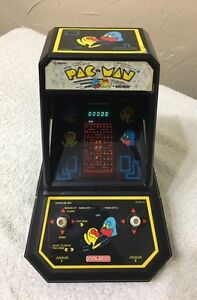 1981 PAC MAN mini tabletop arcade game from coleco  Cambridge Kitchener Area image 1