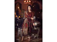 Pakistani ladies unstitch suit lot