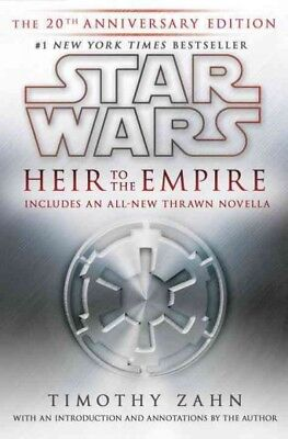 Star Wars: Heir to the Empire, Hardcover by Zahn, Timothy, Brand New, Free (Star Wars Heir To The Empire Hardcover)