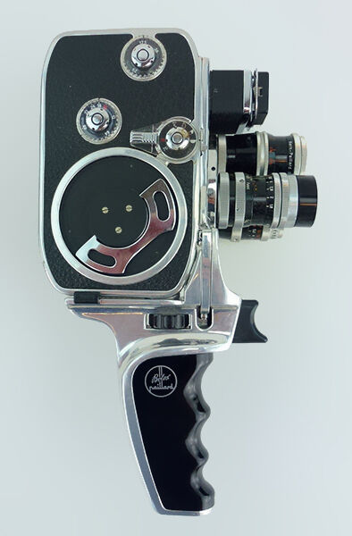 top 7 bolex 8mm vintage movie cameras ebay. Black Bedroom Furniture Sets. Home Design Ideas