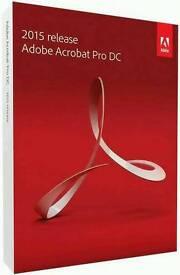 Adobe Acrobat Pro DC 2015 Full Version For Windows/Mac