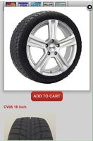 Winter package (tires on wheels) for 2016-2017 Chevrolet Cruze.