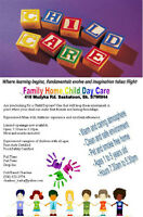 Family Home Child Daycare