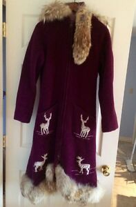 Handmade Native Indian Winter Coat