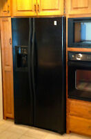 Refrigerator for sale $375, counter depth with water and ice