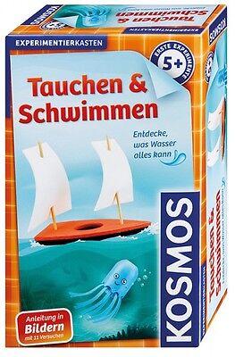 Erste Experimente - Tauchen & Schwimmen Kosmos - Spiele - Made in Germany