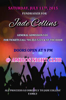 JADE COLLINS FUNDRAISER,  JULY 11 2015