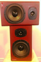 Pair of Nady SM250A active monitors (MINT) -- 100W biamped