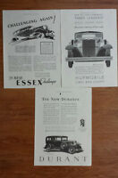 Lots of Antique and Vintage 1930's, 60's & 70's Print Ads