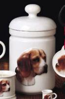 Beagle Best Friends Originals canister,Beagle treat jar,ornament