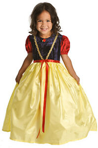 Girls-Snow-White-Princess-Dress-Up-Halloween-Costume-XL-7-9-yr-Little-Adventures