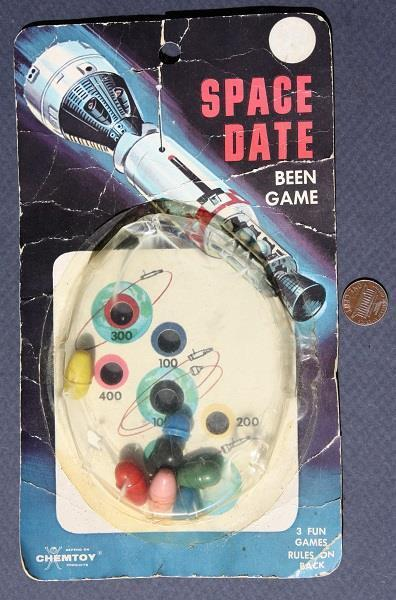 1965 NASA Gemini Program Space Capsule Dexterity Game-Chicago Ill. Chemtoy-RARE!
