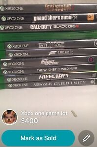 Xbox one with 11 games and 1 controller and hdmi  Edmonton Edmonton Area image 2