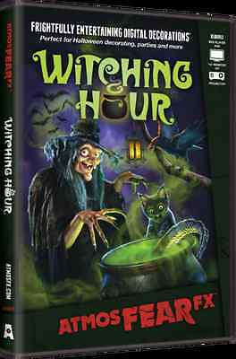 Halloween Fx Dvd (Witching Hour ~AtmosFearFX DVD Halloween Special FX Projector Window)