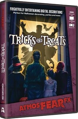 Halloween Fx Dvd (Trick And Treats~AtmosFearFX DVD Halloween Special FX Window)
