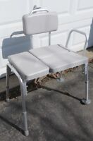 Reduced Now $15.00 Medical Transfer Bench/Chair