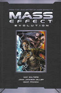 Mass Effect Evolution Custom Hardcover Edition (Dark Horse)