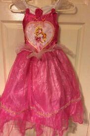 Disney princess sleeping beauty dress age5-6 years