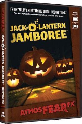 Jack O' Lantern Jamboree~AtmosFearFX DVD Halloween Special FX Window - Jack O Lantern Jamboree Dvd
