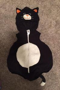 Black Kitty Costume - Size 12 Months