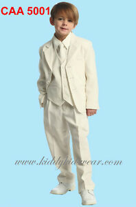 Ring Bearer Tuxedos and First Communion Suits