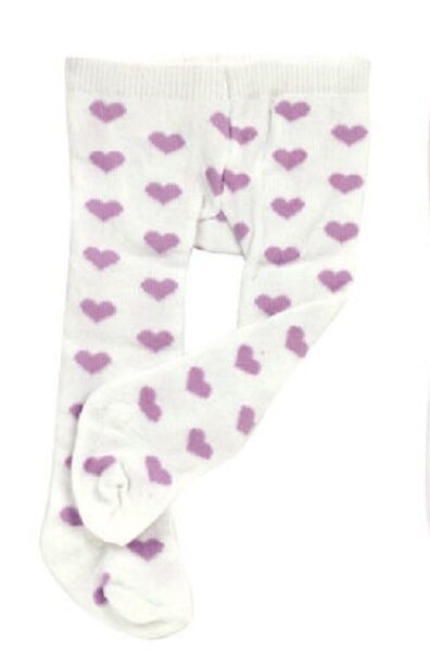 Lovvbugg Lavender Hearts Tight fit Bitty Baby Huggems n up-to-18 inch Doll