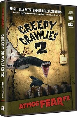 Halloween Projection Window (Creepy Crawlies 2~AtmosFearFX DVD Halloween Special FX Window)