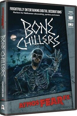 Bone Chiller ~AtmosFearFX DVD Halloween Special FX Projector Window Projection - Bone Chillers Dvd
