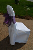 Chair Covers, Tablecloths and Napkin Rentals