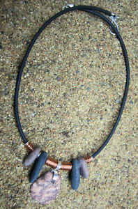 Handmade Lake Superior Pebble Necklace