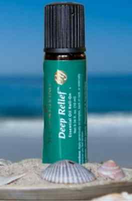 Young Living Deep Relief Roll On Peppermint  Vetiver  Clove  Copaiba  Lemon New