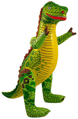 INFLATABLE DINOSAUR 76CM SINGLE