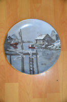 Keirstead-1985-Single Issue 24kGold Bordered Commemorative Plate