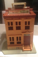 Vintage Fisher Price Sesame Street Play Family House 1975