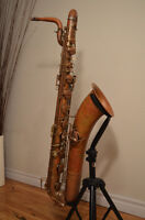 98 Years Old Conn Baritone Saxophone Great Condition!!