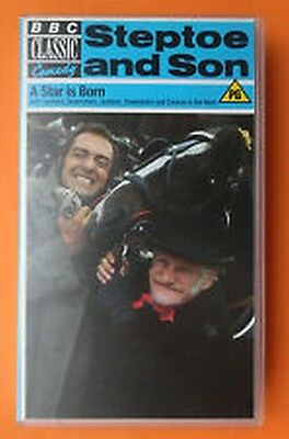 VHS STEPTOE & SON ( A STAR IS BORN)   for sale  Aberdeen