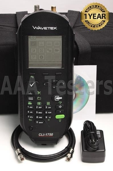 Wavetek JDSU CLI-1750 Cable Signal / Leakage CATV Meter CLI1750